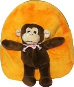 Soft Buddies Soft Toys Soft Buddies Bag with Animal Monkey 26.4 cm