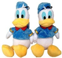 SCG Adorable Big Donald Duck Combo Soft Toy  - 40 Cm (White, Blue)