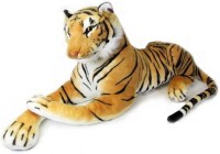Atc Toys Stuffed Tiger Animal Soft Toys  - 60 Cm (Brown)