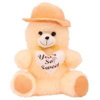 Arihant Online White Bendable Teddy Bear  - 9 Inch (White)