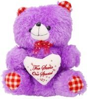 Arihant Online Purple Good Looking Teddy Bear  - 15 Inch (Purple)