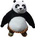 Dreamworks Kung-Fu Panda 10 Inch Plush Toy  - 10 Inch - Black, White, Yellow