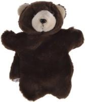 Twisha Hand Puppets Bear  - 10 Inch (Brown)