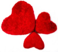 StyBuzz Heart Stuff Toy Combo- Set Of 3  - 24 Inch (Red)