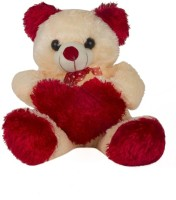 O Teddy Cute Teddy Bear With Special Red Heart  - 15 Inch (Red)