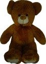 Snuggles Teddy With Bowknot  - 24 Inch - Brown