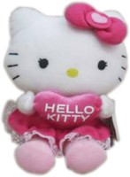 Hello Kitty With Heart  - 12 Inch (Pink, White)