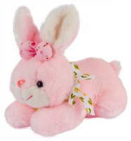 Dhoom Soft Toys Bunny Pink  - 18 Cm (Pink)