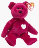 TY Beanie Babies Soft Toys TY Beanie Babies Valentina The Bear
