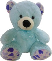 Fun&funky Teddy Bear  - 13 Inch (Blue)
