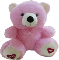Play Toons Teddy Bear  - 17 Inch (Pink)