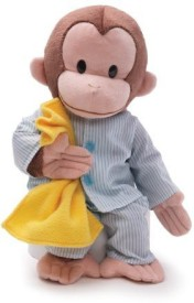 GUND Curious George Pajamas Animal  - 20 inch