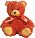 Hamleys Soft Toys Hamleys Orange Bear Soft Toy