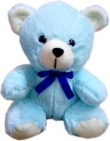 Fun&Funky Teddy Bear  - 8 Inch (Blue)