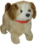 Smartkshop Action Figures Smartkshop Fantastic Puppy Battery Operated Jumping Dog Run Jump Toy