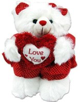 Tokenz Conveying Love : Teddy Bears  - 12 Inch (Red, White)