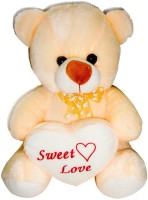 Deals India George Teddy Bear  - 15 Inch (Beige)