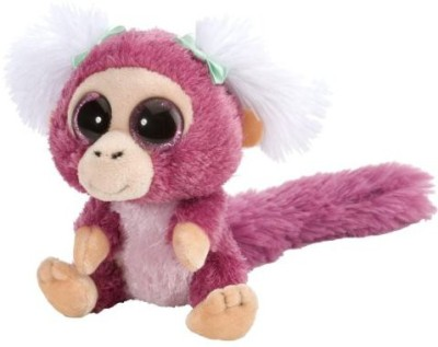 Wild Republic Soft Toys Wild Republic L'Il Sweet & Sassy Marmoset Monkey Pomegranate Plush