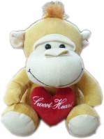 Fun&Funky Soft Mokey  - 8 Inch (Brown)