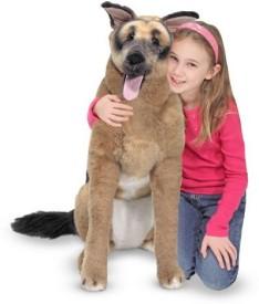 Melissa & Doug Deluxe Plush German Shepherd