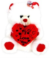 Tokenz Conveying Love Message Teddy Bears  - 11 Inch (White)
