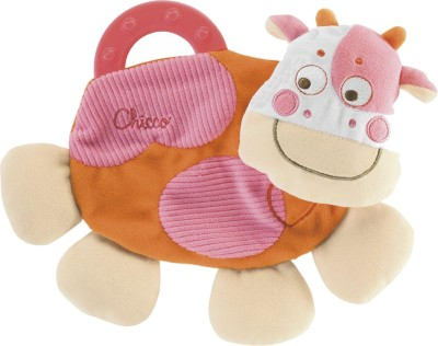 Chicco Soft Toys Chicco Cow Teething Blanket
