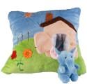 Soft Buddies Elephant - Animal House  - 14 Inch - Multicolor