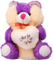 Arihant Online Purple Tantalizing Teddy Bear  - 15 Inch (Purple)
