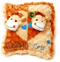 Scrazy Super Smart Pillow Cow  - 10 Cm (Multicolor)