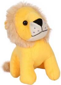 Esoft Baby Lion Soft Toy Yellow 1 Pc - 15 cm