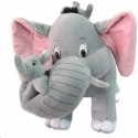 Tickles Mother Elephant with 2 Babies - 15 inch: Stuffed Toy
