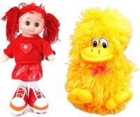 Atc Toys Kritika Musical Doll With Musical Duck  - 15 Cm (Red/Yellow)