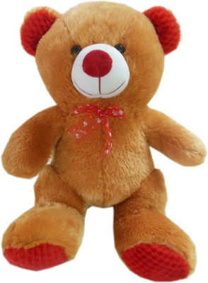 Play Toons Teddy Bear  - 16 Inch (Brown)