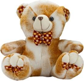 Glitters Glitters Cute Double Shaded Brown Teddy - 15 inch