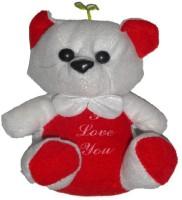 Atorakushon MUSICAL SOFT TEDDY BEAR LOVE VALENTINE COUPLE BIRTHDAY GIFT  - 16 Cm (Multi)