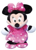 Disney Plush Minnie Flopsie?  - 17 Inch (Pink)
