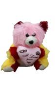 Ekku Hearty Teddy Bear  - 15 Inch (Multicolor)
