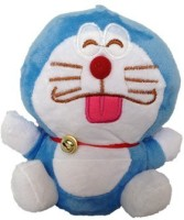 SCG Adorable Small Doraemon Soft Toy High Quality  - 20 Cm (Blue)