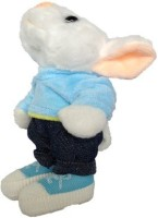 SCG Adorable Small Stuart Little Soft Toy  - 20 Cm (White, Blue)