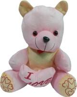 Jai Textiles U-Turn Teddy Bear 16 Inch  - 16 Inch (Pink)
