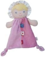 Fisher Price Soft Toys Fisher Price Knot Cuddler Blanket Doll