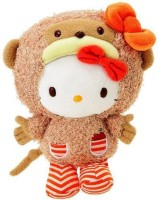 Sanrio Hello Kitty 10 Inch Animal Plush Monkey (Brown)