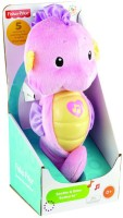 Fisher-Price Ocean Wonders Soothe And Glow Seahorse  - 26.7 Inch (Pink)