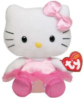 TY Beanie Baby Hello Kitty - Ballerina  - 20 Cm (Multicolor)