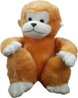 Ekku Sitting Monkey  - 20 Inch (Brown)