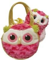 Aurora World Fancy Pals Simmer Owl Pet Carrier (Pink)