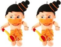Saugat Traders Hanuman Ji Pack Of 2 - 20 Inch (Multicolor)