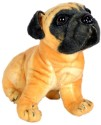 A Smile Toys & More Pug Dog  - 12 Inch - Beige