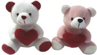 Play Toons Couple Teddy  - 6 Inch (Multicolor)