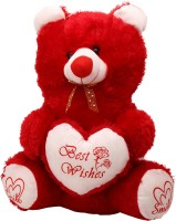 Arihant Online Red Modish Teddy Bear  - 12 Inch (Red)